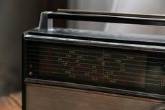 Стиль старого радио ретро Стоковая Фотография