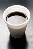 стиропор кофейной чашки стоковая фотография rf