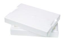 стиропор упаковки коробки Стоковое фото RF