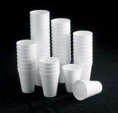 стиропор чашки Стоковые Изображения RF
