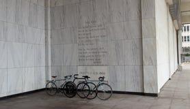 Стихотворение на федеральном здании в Мемфисе, TN стоковое изображение