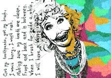 Стих для дантиста Бесплатная Иллюстрация