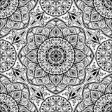 Стилизованная флористическая средневековая картина Стоковые Фотографии RF