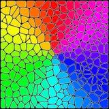 стилизованное цветное стекло Стоковое Изображение