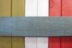 Стилизованный итальянский флаг Стоковая Фотография