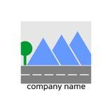 Стилизованный логос Стоковое Изображение