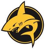 Стилизованный логотип акулы Стоковое фото RF