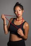Стильная азиатская девушка Стоковые Фотографии RF