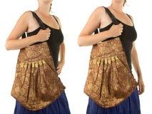 Стильная индийская сумка Стоковое Изображение