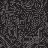Стильная картина черная белизна Стоковая Фотография RF