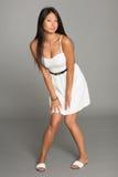 Стильная молодая женщина азиата Стоковое Изображение