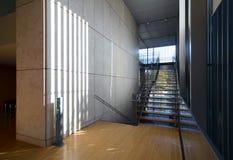 Стильная современная архитектура, взгляд лестницы Стоковые Фото