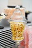Стильная сладостная таблица Стоковое Изображение