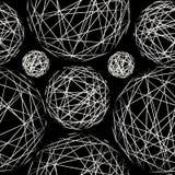 Стильная текстура точки польки картина безшовная Стоковые Фото