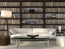 Стильные офис и библиотека Стоковые Фотографии RF