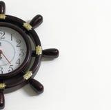 Стильные часы на стене Стоковое Изображение RF