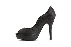 Стильный женский ботинок Стоковые Фотографии RF