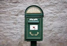 Стильный почтовый ящик в Таллине Стоковое Фото