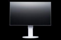Стильный, современный дисплей компьютера LCD, взгляд шрифта Стоковое фото RF