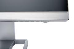 Стильный, современный дисплей компьютера LCD, вид сзади Стоковая Фотография RF