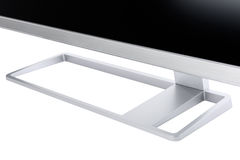 Стильный, современный дисплей компьютера LCD, вид сзади Стоковые Изображения RF