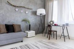 Стильный угол современной квартиры Стоковое Фото