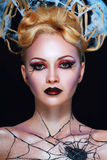 Стиль вампира ночи Стоковое Фото