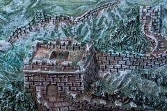 Стиль Великой Китайской Стены Стоковое Изображение