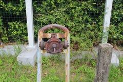 Стиль водяной помпы руки ретро Стоковая Фотография RF