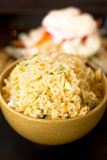 Стиль еды жареных рисов тайский Стоковая Фотография