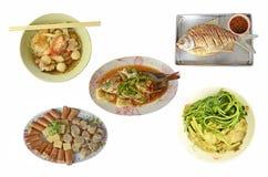 Стиль еды собрания тайский Стоковая Фотография RF