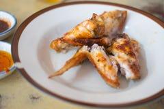 Стиль жареного цыпленка тайский Стоковое Изображение