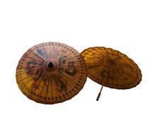 Стиль зонтика китайский Стоковое Изображение