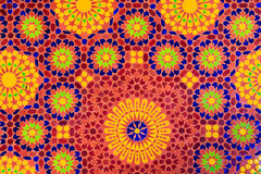 Стиль исламской мозаики морокканский полезный как предпосылка стоковые изображения rf