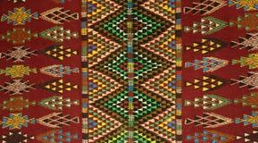 Стиль ковра тунисских berbers - Margoum Стоковое фото RF