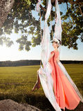 Стиль красоты лета Стоковое фото RF