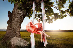 Стиль красоты лета Стоковая Фотография