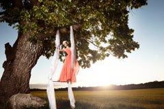 Стиль красоты лета Стоковая Фотография RF