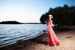 Стиль красоты лета Стоковые Фотографии RF