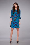 Стиль моды женщины красивый одевает каталог собрания модельный Стоковые Фото