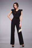 Стиль моды женщины красивый одевает каталог собрания модельный Стоковые Изображения