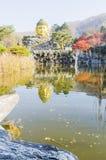 Стиль дома Кореи в зиме Стоковые Изображения RF