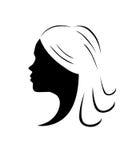 Стиль причёсок Стоковое Фото