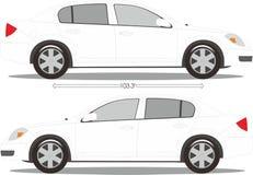 Стиль размера автомобиля Стоковое Фото