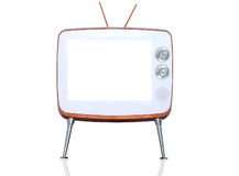 Стиль ретро и года сбора винограда TV Стоковые Изображения