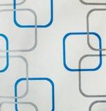 Стиль ретро предпосылки ткани картины квадрата шнурка безшовной винтажный Стоковые Фото
