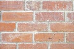 Стиль старой и grungy коричневой кирпичной стены винтажный Стоковое Изображение RF