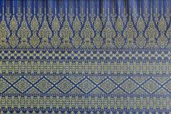 стиль сделанный по образцу тканью традиционный тайский Стоковая Фотография RF