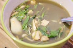 Стиль Таиланда супа гриба Стоковые Фотографии RF