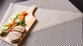 Стиль тайского семени Яма подсказки bolona свинины куска салата немедленного тайский Стоковое фото RF